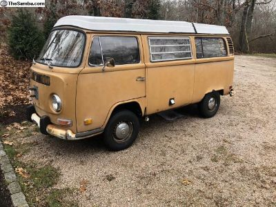 1972 Westfalia Camper Sierra Yellow