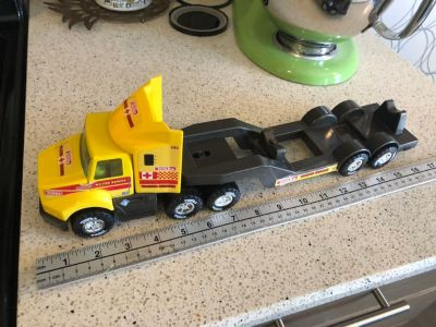 tonka water rescue truck 50151-a hasbro Metal and plastic