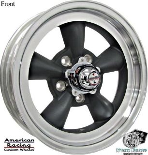 Purchase 15x4.5-15x6 GRAY AMERICAN RACING TORQ THRUST D WHEELS RIMS, CHEVY II NOVA 1962 motorcycle in Spring, Texas, United States, for US $725.00