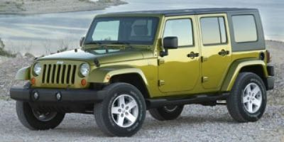 2008 Jeep Wrangler Unlimited X (Rescue Green Metallic)