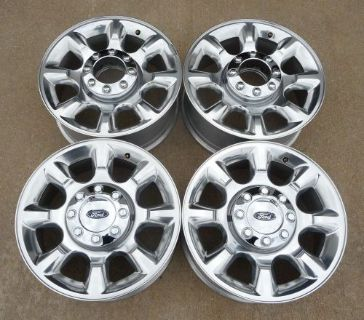 "Purchase 2005-2016 FORD F250 F350 20"" FACTORY POLISHED ALLOY WHEELS 3844 motorcycle in Hurst, Texas, United States, for US $999.95"