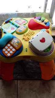 Activity table toy-Fisher Price