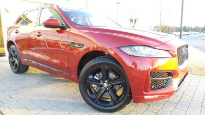 2019 Jaguar F-Pace (Firenze Red Metallic)