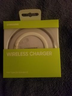 Samsung wireless cell phone charger.