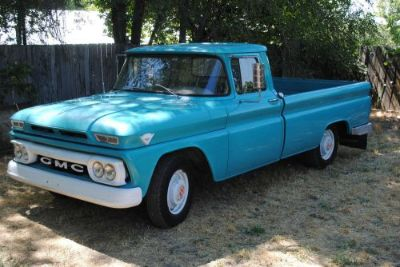 Buy 1962 50K original 3/4 ton Fleet side GMC Truck Rare Accessory motorcycle in American Fork, Utah, United States, for US $7,500.00