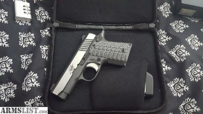 For Sale: Kimber Micro 9 Eclipse