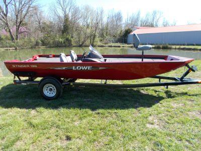 2016 Lowe STINGER 195 W/2019 MERCURY 115 PXS & TRAILER Bass Boats West Plains, MO