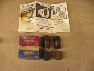 Find NOS Mopar Vintage Dodge Plymouth DeSoto Chrysler Lower Control Arm Bushings motorcycle in Alma, Arkansas, United States, for US $24.95