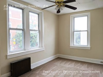 Apartment Rental - 2233 St Paul Street