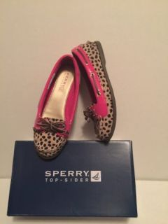 Girl Sperry (size 13 1/2)