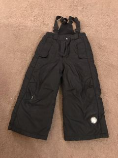 4t snow pants with suspenders