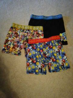 3 pairs of boys slick boxers size 8