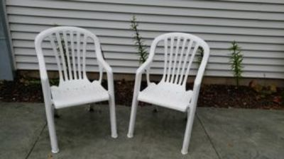 Stackable Lawn / Patio Chairs