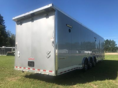 2019 34' All Aluminum Race Trailer*Loaded*