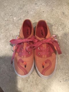 Cat & Jack flamingo shoes size 11. Adorable! Hardly worn! $10 firm