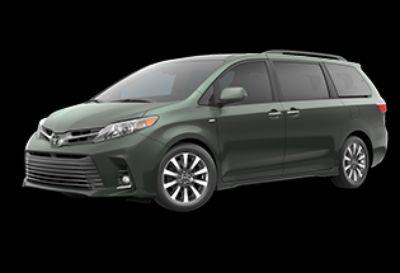2020 Toyota Sienna XLE (Alumina Jade Metallic)