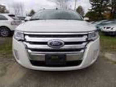 2011 Ford Edge SEL AWD White,