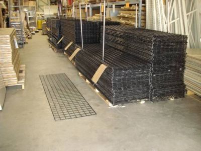Grid wall panels , black