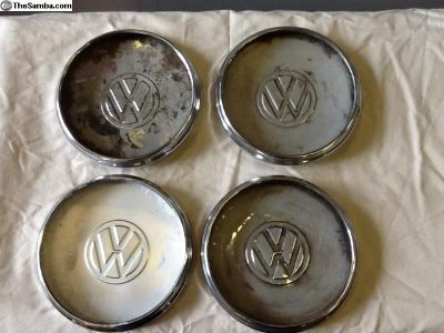 Set of 4 VW wheel center cap
