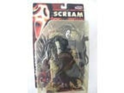 New 1999 Movie Maniacs 2 Ghost Face Scream McFarlane Toys