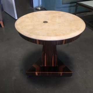 Marble Side Table ($75)