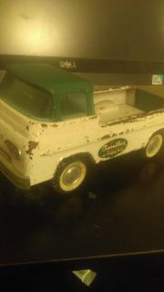 Ford econoline metal toy truck