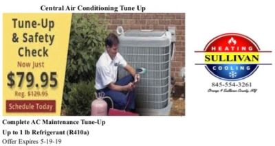 Central Air Conditioning Repair & Freon Recharge - Affordable