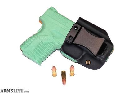 For Sale: Aggressive Concealment XDSIWBLP IWB Kydex Holster Springfield XDS 3.3 9/45
