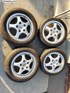 Porsche cup wheels