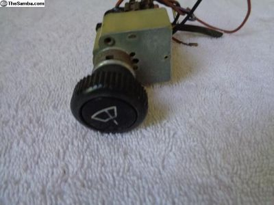 VW Bug Windshield Wiper Switch