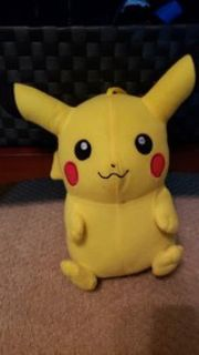 Pikachu stuffed animal