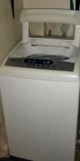 Whirlpool portable washer