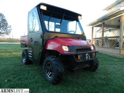For Sale: 2005 Polaris Ranger 500 4x4 Loaded w/Snow Plow, Full Cab, Heater