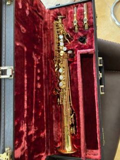 RS Berkeley Soprano Saxophone Saver Kit Red