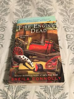 Fire Engine Dead by Sheila Connelly Mystery
