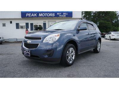 2011 Chevrolet Equinox LT (blue)