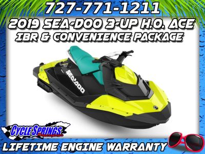2019 Sea-Doo Spark 3up 900 H.O. ACE iBR + Convenience Package PWC 3 Seater Clearwater, FL