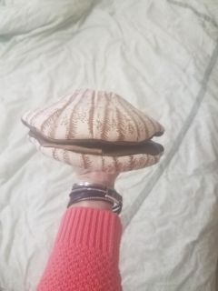 Scallop puppet