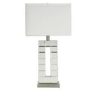 "Agda Mirrored 27"" Table Lamp"