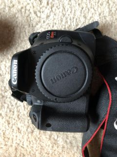 Canon eos Rebel T2i with lenses and more