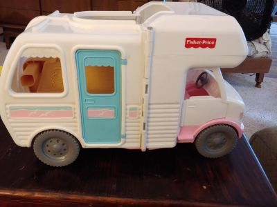 Fisher Price fold out RV