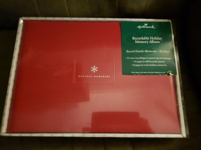 New in package recordable photo album