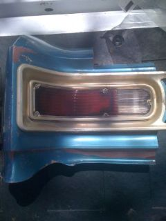 Tail Light Assys. Chevy Chevelle Malibu (Tyler)