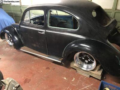 1961 bug w/ autocraft engine and weld wheels