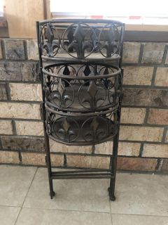 Plant Stand with Graduated Levels