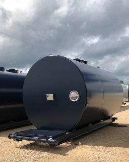 2018 HUGHES TANK COMPANY 4000 gallon UL 142 Double Wall skid tank