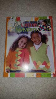 Leisure Arts 9 Knit designs for kids sweaters