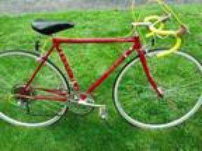 vintage Red 1982 Fuji Road Bike