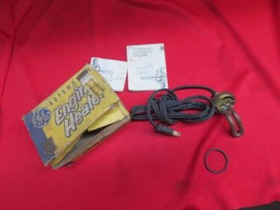 Purchase Vintage GE aftermarket accessory engine oil heater No Reserve motorcycle in Nashville, Tennessee, United States