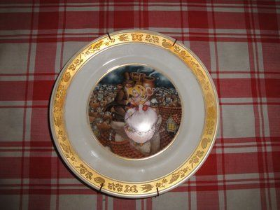 Hans Christian Anderson collectors plate